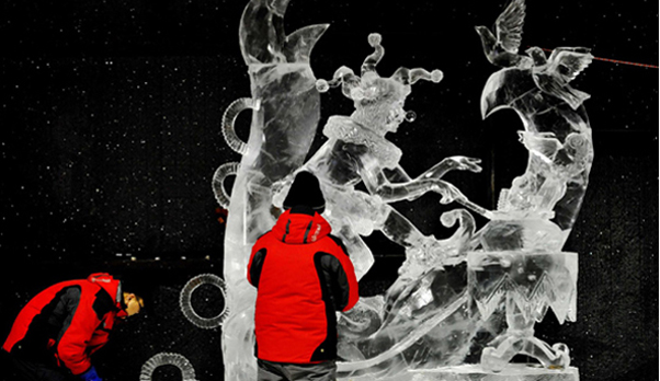 Harbin Intl Ice Sculpture Competition