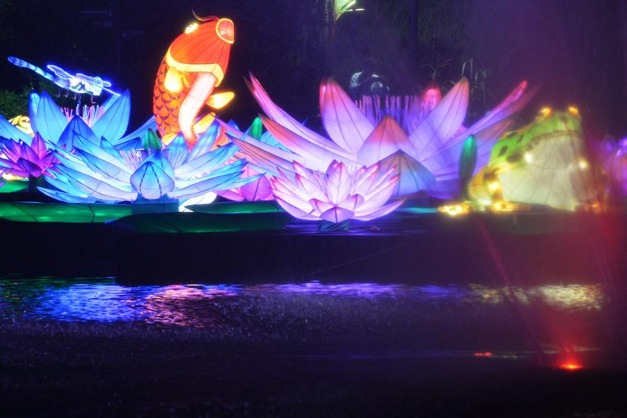 mid autumn festival lights shine at singapores gardens by the bay - Garden By The Bay Festival