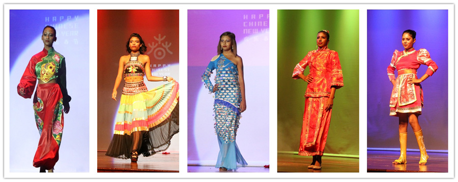 Chinese Costume Fashion Show Captivates Mauritius