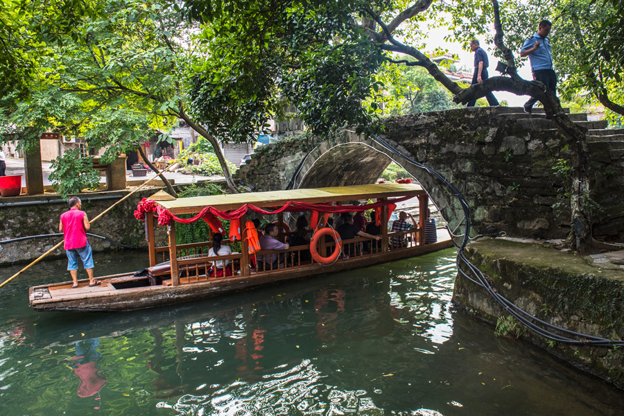 Ancient canal trickles back as popular retreat
