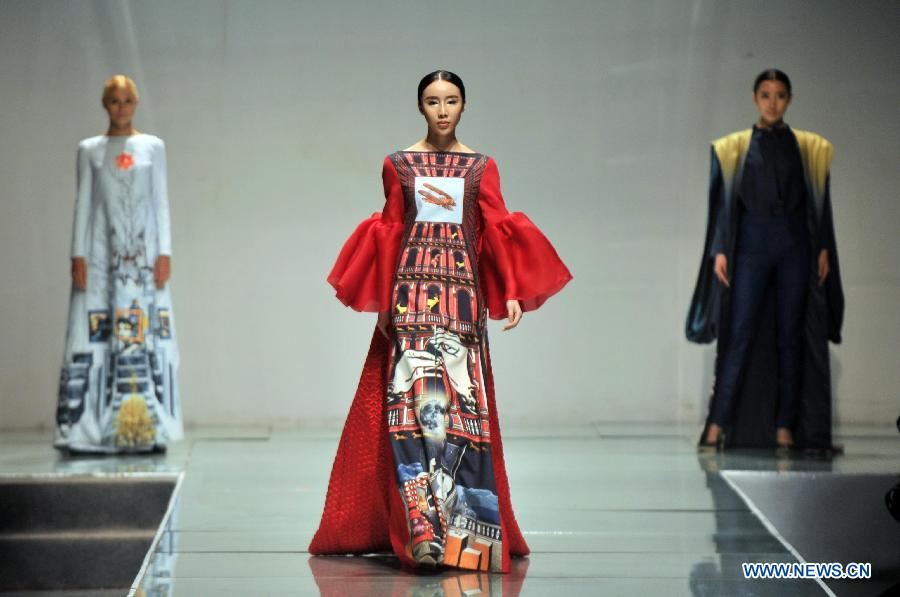 Beijing Institute Of Fashion Technology Holds Fashion Show