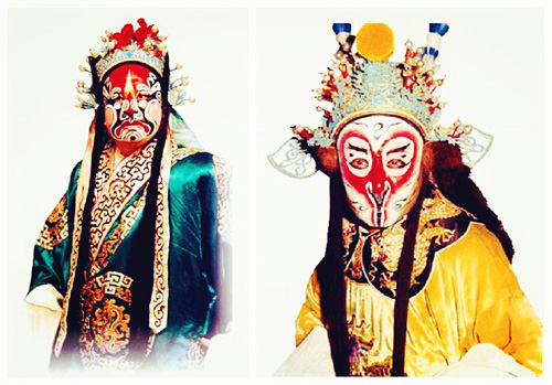 The facial makeup is a unique way of portrayal in the traditional Chinese theater. Makeup types number thousands, and different types have different ...