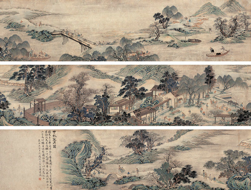 The charming Chinese painting collections of Mid-Autumn ... - photo#43