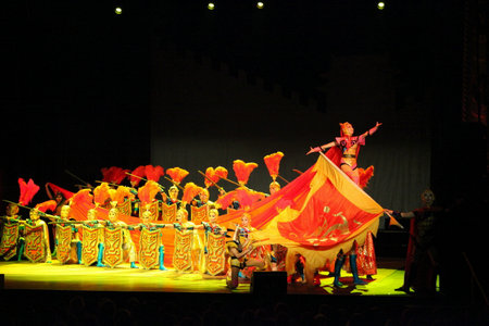 Renowned Chinese Acrobatics Drama Mulan Popular in France