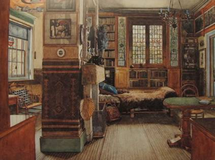 Sir Lawrence Alma Tadema S Library In Townshend House London 1884