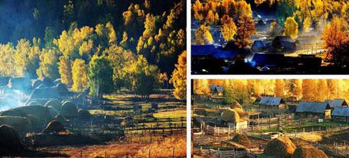 Tuvas village in kanas xinjiang